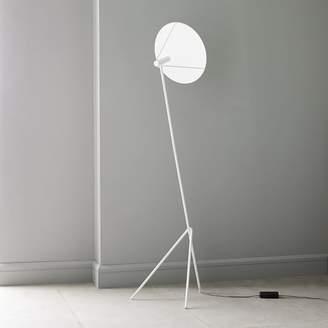 west elm Powell LED Floor Lamp - Satin White