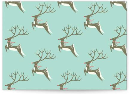 Prancing Deer Self-Launch Cards