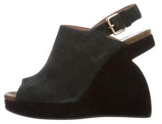 Marsèll Suede Wedge Sandals