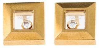 Chopard 18K Happy Diamond Studs