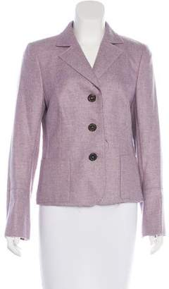 Akris Fitted Cashmere Blazer