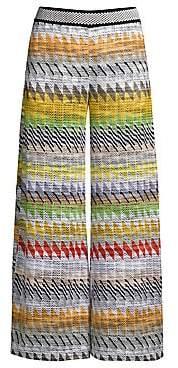 Missoni Women's Rombi Wide Leg Pants