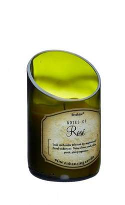 Smart Living Company WINE BOTTLE ROSE SCENTED CANDLE