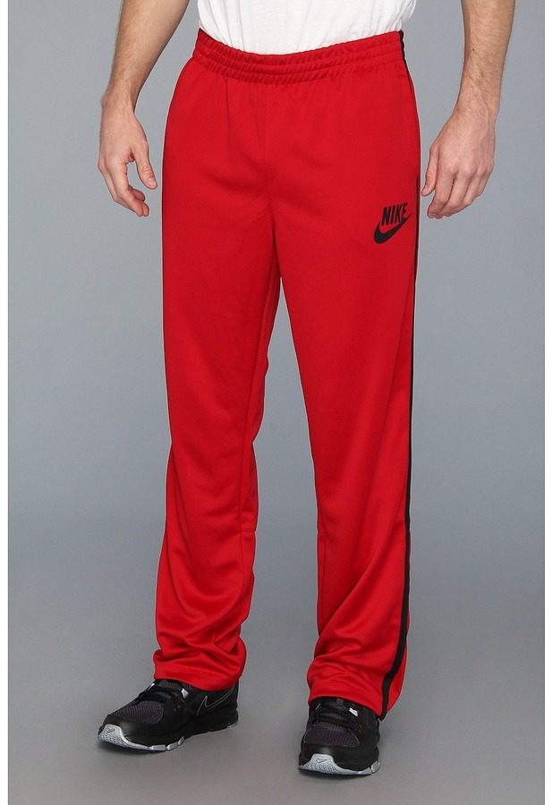 Nike HBR Track Pant (Gym Red/Black/Black) - Apparel