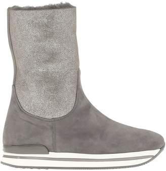 Hogan H222 Leather Boot