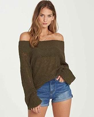 Billabong Women's Rolled Up Sweater