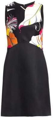 Emilio Pucci Sleeveless Wool Silk A-Line Dress