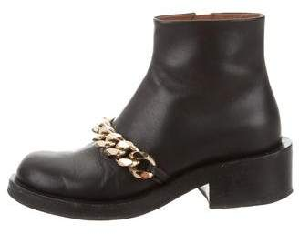 Givenchy Chain-Link Ankle Boots