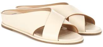 Ellington Leather Goods Gabriela Hearst leather sandals