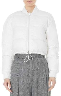 Tibi Gus Cropped Reversible Puffer Jacket
