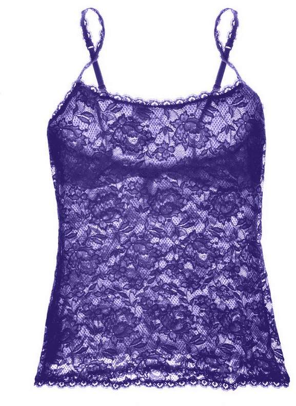 | Never Say Never Sassie Lace Camisole | Size L | Purple