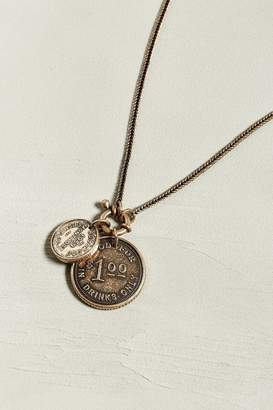 Urban Outfitters Dollar Coin Necklace