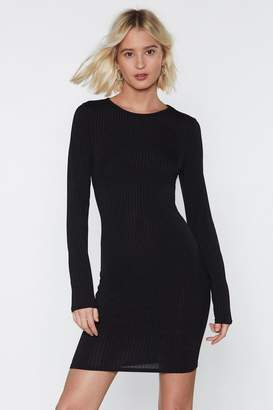 Nasty Gal Don't Hold Back Cut-Out Dress