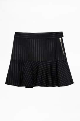 Zadig & Voltaire Zadig Voltaire Joe Stripes Skirt