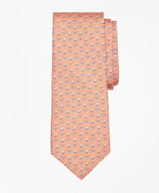 Brooks Brothers Bee Motif Print Tie