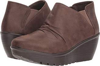 Skechers Women's Parallel - Curtail - Twin Gore Ruched Bootie Ankle Boot