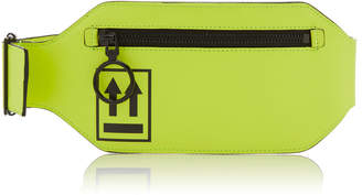 Off-White Neon Leg Leather Pouch