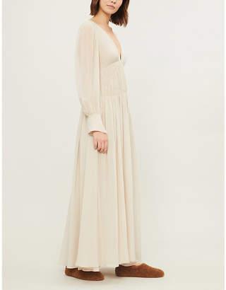 3eb8a4337 at Selfridges · Stella McCartney Carleigh silk-crepe de chine gown