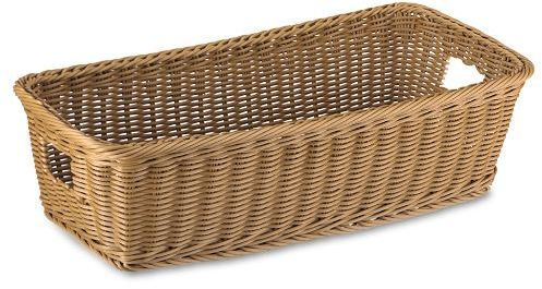 Washable Shallow Baskets, Sets of 2