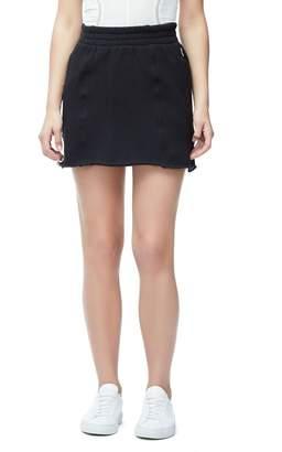 Good American The High Waist Sweat Skirt