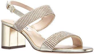57a00bebdd91 Nina Block Heel Women s Sandals - ShopStyle