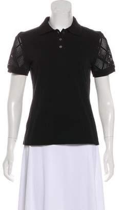 Balenciaga Short Sleeve Polo Top