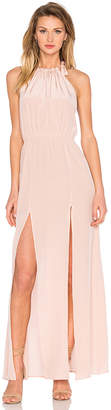 STONE COLD FOX Onyx Gown in Blush $415 thestylecure.com