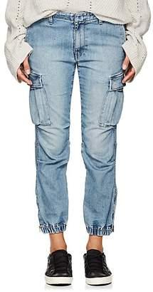 "Nili Lotan Women's ""French Military"" Cargo Jeans - Vintage Wash"