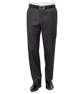 Canali Wool Serge Plain Trouser