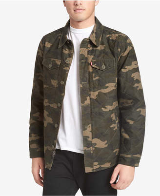 Levi's Men Camo Shirt-Jacket