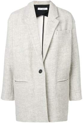 IRO single-breasted midi coat