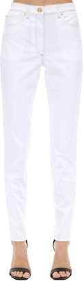 Versace High Waist Skinny Stretch Denim Jeans