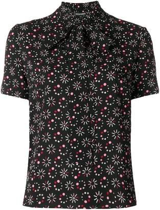 Emporio Armani all-over print blouse