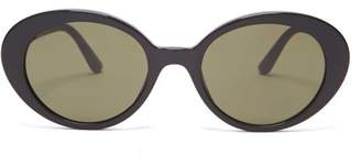 The Row X Oliver Peoples Parquet Sunglasses - Womens - Black