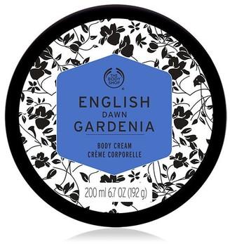 The Body Shop English Dawn Gardenia Body Cream Moisturizer