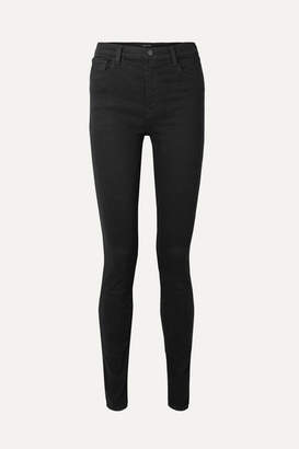 J Brand Carolina 32 High-rise Skinny Jeans - Black