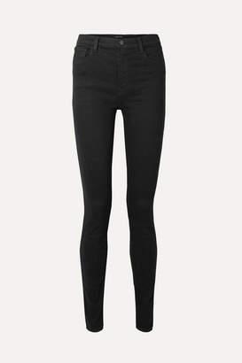 J Brand Carolina 32 High-rise Skinny Jeans - Black