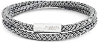 Tateossian Rubber Cable Bracelet