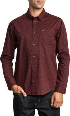 RVCA Vu Long Sleeve Woven Shirt