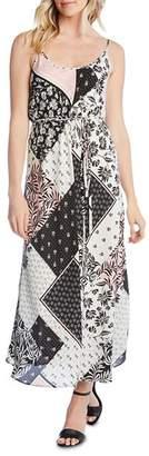 Karen Kane Patchwork-Print Maxi Dress