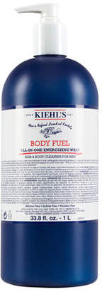 Kiehl's Body Fuel All-In-One Energizing Wash for Hair and Body, 1 L