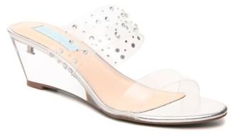 Betsey Johnson Vana Wedge Sandal