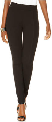 INC International Concepts Seamed Pull-On Ponte Skinny Pants $49.50 thestylecure.com