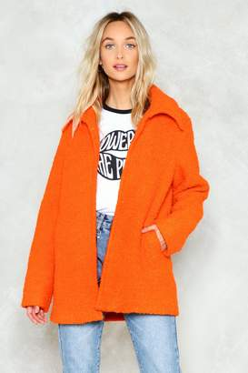 Nasty Gal Feel Your Touch Jacket