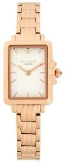 Ted Baker Stainless Steel Bracelet Watch