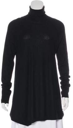 Donna Karan Cashmere Turtleneck Top