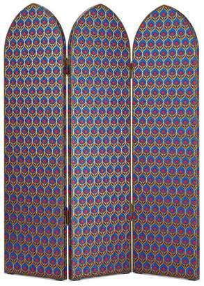 At Gucci Australia Lurex Jacquard Three Panel Screen