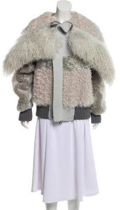 Marc Jacobs Lamb Fur Jacket w/ Tags