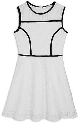 Sally Miller Girls' Crochet Lace Sleeveless Dress - Big Kid