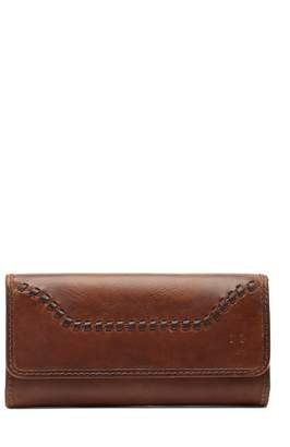 Frye Melissa Whipstitch Leather Wallet